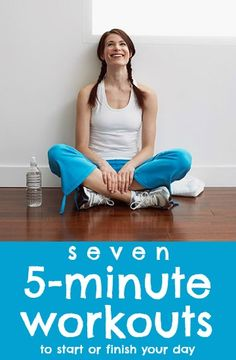 5-Minute Workouts for All Your Problem Areas via Tipsaholic.com