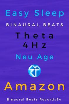 Easy sleep Binaural Beats  4 Hz New Age - Amazon #amazon #binaural beats #itunes  #sleep #sleeping deep #sleeping deep night # sleepover ideas