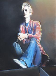 David Bowie - pastel 2019 David Bowie, Joker, My Arts, Pastel, Fictional Characters, Cake, The Joker, Fantasy Characters, Jokers