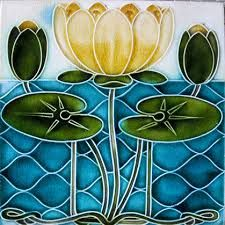 Image result for art nouveau tiles