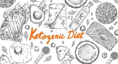 Ketogenic Diet sketch pencil drawing anti-aging anti-inflammatory popular high fat diet to lose weight vector Natural Liver Detox, Best Liver Detox, Liver Detox Cleanse, Food Good For Liver, Detox Cleanse Recipes, Liver Flush, Liver Detoxification, Unhealthy Diet, Keto Diet Plan