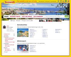 Sunweb forum; Sunweb lanceert eigen reiscommunity