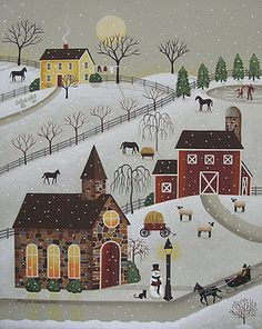 Mary Charles - Chapel in the Snow