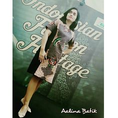 Simple, elegant and classy batik dress....  SMS /WA +6281326570500, BBM 5B54D9C1 & D0503885, Path Aalina Batik, Line Aalina Batik, IG @aalinabatik, FB Aalina Batik.