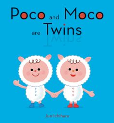 This adorable book is about two identical twin lambs.  Although outwardly they are the same they have many differences.  A happy, fun for book for ages 2+.  I loved it.