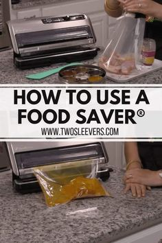 Most current Pic How to Use a Food Saver Strategies The most crucial difficulties with the cooking is definitely food storage devices methods. For mil Freezer Cooking, Freezer Meals, Freezer Recipes, Sous Vide, Food Saver Vacuum Sealer, Dehydrated Food, Dehydrated Vegetables, Canning Recipes, Jar Recipes