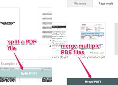 Free Website To Convert Files To PDF, Merge, Split PDF Computer Network, Free Website, Filing, Pdf, Internet