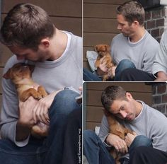Paul Walker. That is one lucky dog!