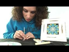 (1) How to use my patterns to create your own mandalas - Part 1 - YouTube