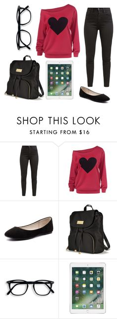 """""""Untitled #321"""" by qeenshaima ❤ liked on Polyvore featuring Levi's, Verali and Victoria's Secret"""