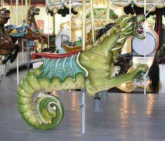 Greenfield Village Carousel Sea Dragon