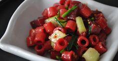 Délices & Confession: Salade de macaroni aux betteraves