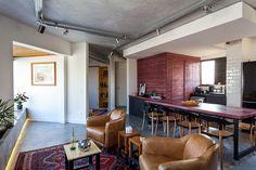 Inspiração - Apartamento com estilo industrial em Pinheiros