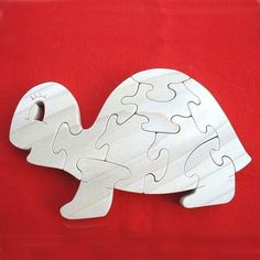 Happy Turtle  Childrens Wood Puzzle Game  New by USNavyRetiredVet, $16.95
