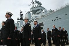 The Ministry of Defence is looking to preserve Illustrious, with bids from private companies, charities and trusts to secure its future Hms Illustrious, Waves Goodbye, Royal Marines, Navy Ships, Aircraft Carrier, Royal Navy, Portsmouth, Ministry, Preserve