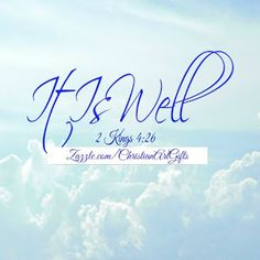 It is well 2 Kings Bible Verses For Women, Encouraging Bible Verses, Bible Verses Quotes, Bible Verses For Depression, Christian Affirmations, Stages Of Grief, Relaxation Techniques, New Chapter, Stress Management