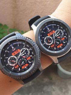 Ballozi Cronus is a chrono type watch faces for Galaxy Watch, Gear Gear Sport and Gear Stylish Watches, Luxury Watches, Cool Watches, Rolex Watches, Watches For Men, Best Looking Watches, Watch Faces, Omega Watch, Smart Watch