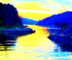 Framed Prints, Canvas Prints, You Mad, Famous Artists, One Pic, Norway, Yellow, Blue, Northern Lights