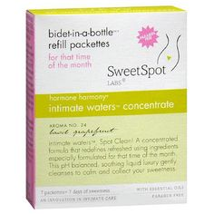SweetSpot Labs Bidet in a Bottle Refill Basil Grapefruit Feminine Wash, Spot Cleaner, Grapefruit, Health And Beauty, Labs, Bottle, Cleanses, Basil, Luxury