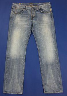 Armani jeans uomo usato gamba dritta W40 L34 tg 54 vintage boyfriend T4678   1f3a231bd90