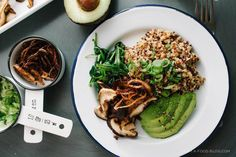 Shitake Quinoa Salad - 13 things you can (easily!) make in a rice cooker on domino.com