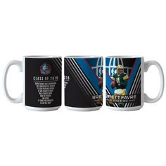 BRETT FAVRE CLASS OF 2016 COFFEE MUG - Commemorate the induction of Brett Favre, of the Green Bay Packers, into the Pro Football Hall of Fame with this commemorative coffee mug!