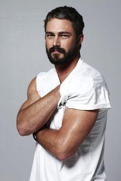 11 #HotGuys With Beards | Taylor Kinney