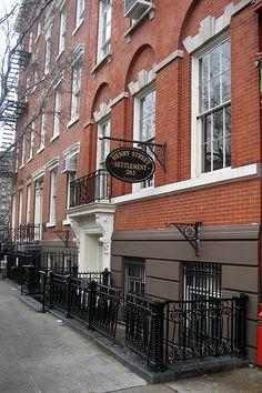 NYC - LES: Henry Street Settlement Visiting Nurse, Alphabet City, New Amsterdam, I Love Nyc, Lower East Side, City That Never Sleeps, East Village, Staten Island, Public School