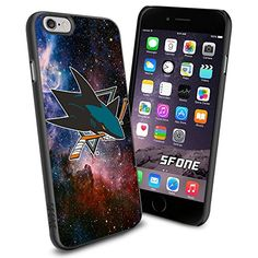 San Jose Sharks Nebula WADE1833 Hockey iPhone 6 4.7 inch Case Protection Black Rubber Cover Protector WADE CASE http://www.amazon.com/dp/B00WQTNFLY/ref=cm_sw_r_pi_dp_vWyFwb15432FB