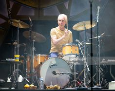 charlie watts | Charlie Watts of The Rolling Stones performs live onstage at The ...