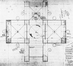 Trenton Bath House by Louis Kahn and Anne Tyng. Ewing Township, New Jersey, 1955.