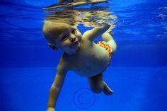 Underwater Portrait of baby by: Kari Shepard  www.shepardswimschool.com Underwater Pictures, Swim School, Underwater Photography, Pool Houses, Unique Photo, Maternity, Photoshoot, Portrait, Baby