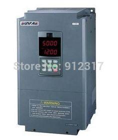 Sunfar inverter 5.5kw AC380V E380 Series frequency inverter E380-4T0055G for cnc router spindle motor #Affiliate