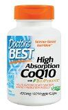 Doctor's Best High Absorption CoQ10 (400 mg), Vegetable Capsules, 60-Count - http://livelongerwithtony.com/doctors-best-high-absorption-coq10-400-mg-vegetable-capsules-60-count/