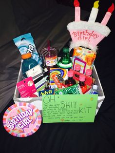 Bestfriends 21st Birthday Oh Shit Kit 19th Gifts Creative