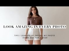 How to Pose in Pictures Photography For Dummies, Photography Poses, Selfie Tips, Diy Lipstick, How To Pose, Clothing Hacks, Portrait Inspiration, Photo Tips, Fashion Outfits