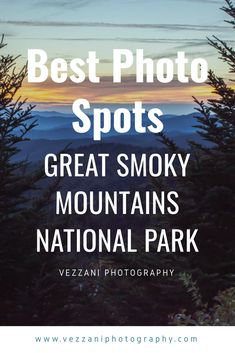 Going to Great Smoky Mountains National Park? Don't miss this list of the best photo spots at Great Smoky Mountains National Park! Great Smoky National Park, Smoky Mountain National Park, National Parks, Christmas Trips, Christmas Travel, Vacation Destinations, Vacation Ideas, Beautiful Places In America, Maggie Valley