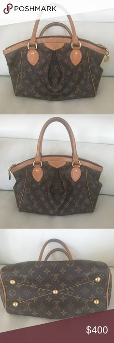 Louis Vuitton tivoli pm Gently used authentic Louis Vuitton tivoli pm. Bought in London during Brexit. Sat in a basement for a while so has a little bit of a musty smell but nothing that is noticeable. Exterior condition is great as well as interior, no stains The zipper has a bit of patina on it which is normal. I'm having to buy Christmas gifts and I just don't use this bag anymore so I'm selling it. Thanks! Please feel free to send offers if reasonable. Louis Vuitton Bags Shoulder Bags