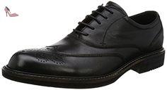 Ecco Kenton, Brogues Homme, Noir (1001Black), 42 EU - Chaussures ecco (*Partner-Link)