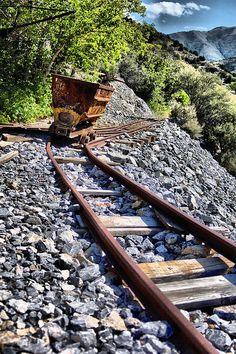 Abandoned mine, Ophir, Utah