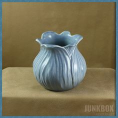 Vintage Red Wing No. 894 Blue Pottery Tulip Vase http://www.rubylane.com/item/790663-CB00739/Vintage-Red-Wing-No-894#.T1z7yhLhO_s.twitter via @rubylanecom