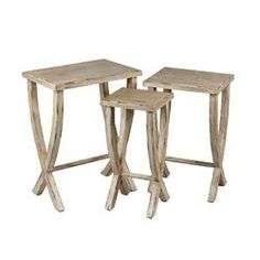 Privilege 3 Piece Nesting Tables | Wayfair