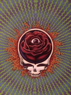 Grateful Dead concert sells out in minutes Grateful Dead Image, Grateful Dead Poster, Grateful Dead Tattoo, Dead Images, Gifs, Skulls And Roses, Forever Grateful, Concert Posters, Skull Art