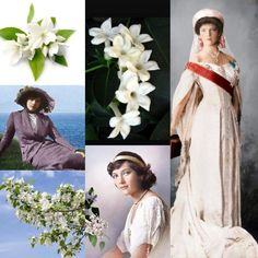 Grand Duchess Tatiana Nikolaevna Romanova of Russia ~ her favorite flower was jasmine.