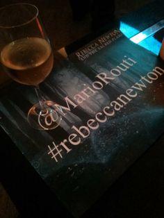 Wine and hash tags #RebeccaNewton