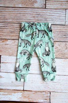 legging biologique pour bébé Pantalons bébé bébé par holdyoume: