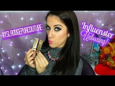 #YSLRougePurCouture | Influenster Unboxing - YouTube