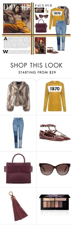 """""""Back in Time"""" by ealita08 ❤ liked on Polyvore featuring J.W. Anderson, Bella Freud, Topshop, Antonio Marras, Valentino, Givenchy, Tom Ford, Etienne Aigner, Smashbox and Clarins"""