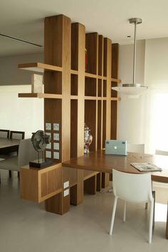 perfect room divider design ideas for decorating your home page 7 Living Room Partition Design, Living Room Divider, Room Partition Designs, Wood Partition, Room Divider Shelves, Room Deviders, Divider Design, Divider Ideas, Home Interior