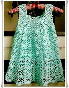 Crochet For Children: Beautiful Lacy Dress - Free pattern I LIKE the top of this---idea for yoke of blouse---videos on stitches---helpful info! Crochet Stitches, Knit Crochet, Crochet Patterns, Crochet Diagram, Crochet Baby Dress Free Pattern, Sewing Patterns, Knitting Patterns, Diagram Chart, Crochet Books